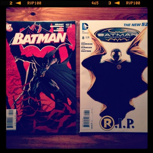 Batman 655/Batman Inc 8 1st & last appearance of Damian Wayne #dccomics #RobinRIP #batmanandson #batmanandrobin #dynamicduo #batmanincorporated #batman #robin #damianwayne #grantmorrison #comics #art #dcreader #instapic #instawow #instagram #iphonography  #iphone5