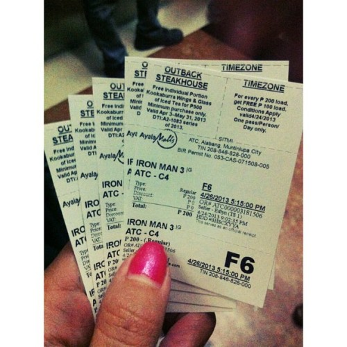 Ironman at last!  (at Alabang Town Center Cinemas)
