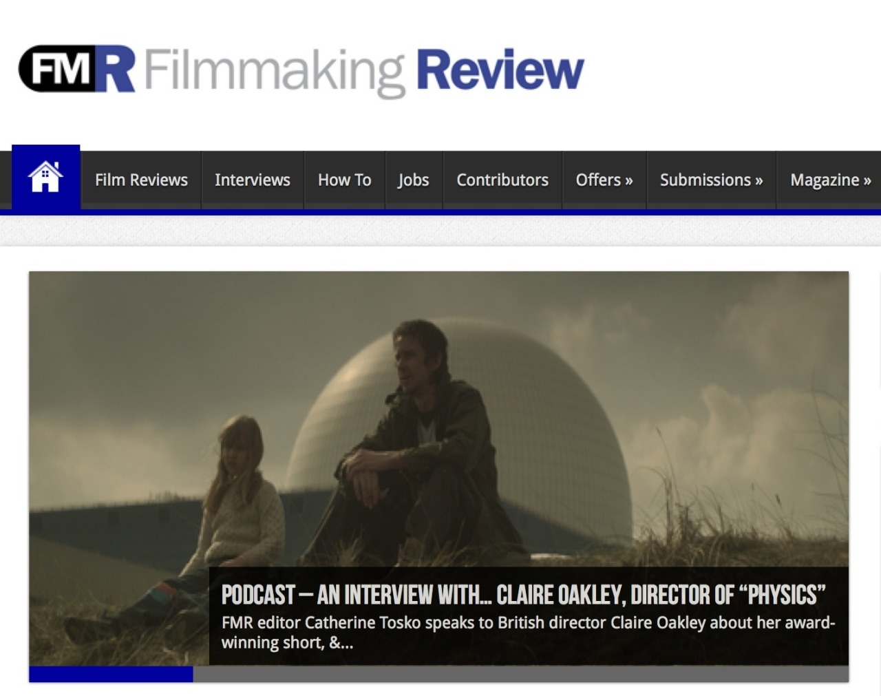 cnoakley:  A podcast with me in Filmmaking Review listen here