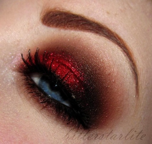 beautylish:  Seductive Valentine by Clarissa V.!