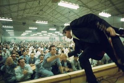 tamburina:  Johnny Cash at Folsom Prison in 1968