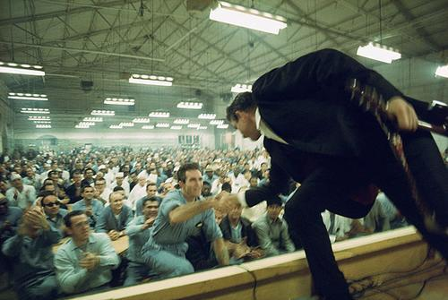 amusicaljedi:  Johnny Cash at Folsom Prison in 1968