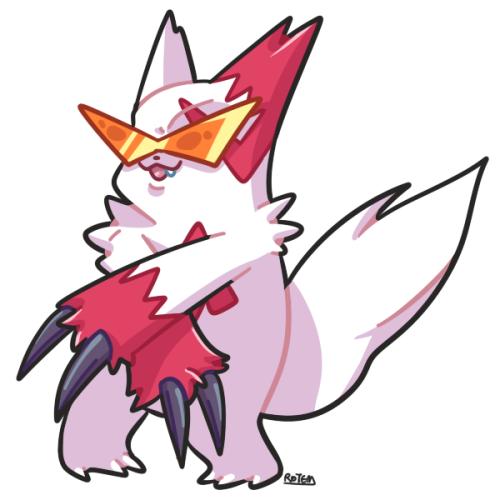 DAY 22: Coolest Looking Zangoose~ ( dat smug ass )