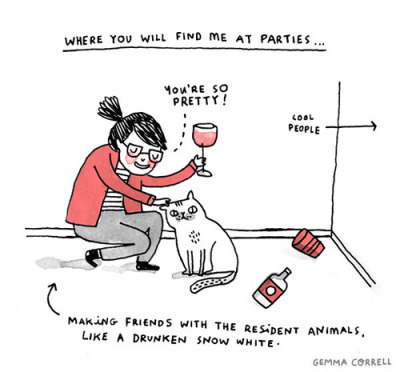 plaidandrhinestones:  I love everything she does! Gemma Correll http://gemma-correll.blogspot.co.uk/