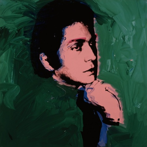 Valentino by Andy Warhol, 1974.
