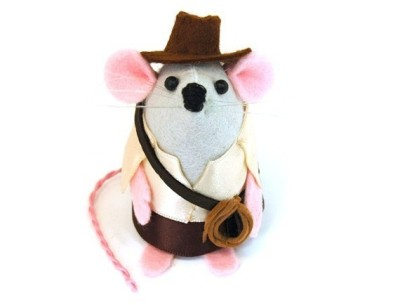 """Indiana Jones"" Mouse by TheHouseOfMouse"