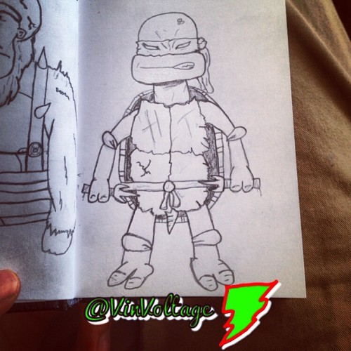 God I love those turtles. #tmnt #raph #art #artwork #doodle #cartoon #turtle #ninja