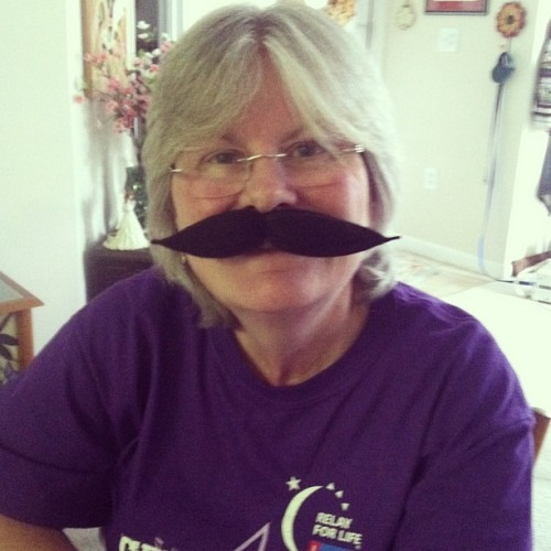 One of the many reasons I love my mother. #mustache  (at Casita Rosenberg)