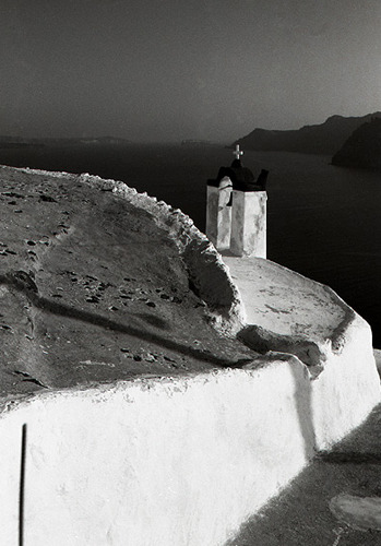 mythologyofblue:  Ivan Terestchenko, Santorini, Greece