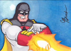 Sketch Card #88 - Space Ghost by *destinyhelix