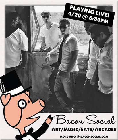 Come check us out at the Bacon Social 4/20/13 go to baconsocial.com or rsvp at https://www.facebook.com/events/133703173484400/