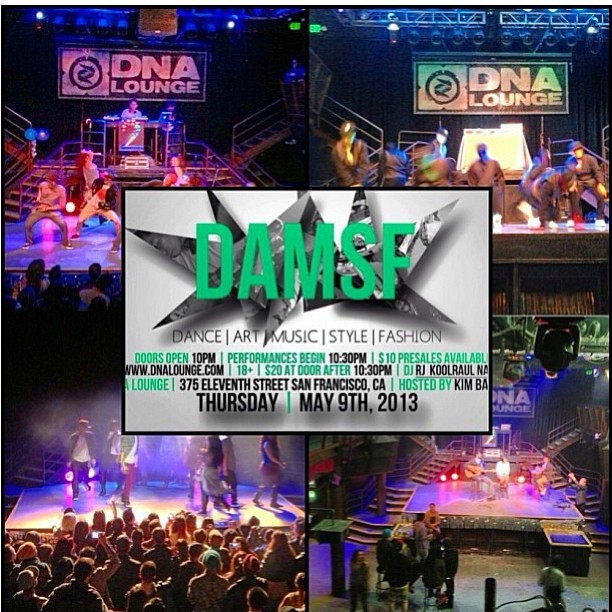 #repost from @ianhalili (love this collage!) :: #DAMSF (#dance #art #music#style #fashion) returns this Thursday in #SanFrancisco at @dnalounge ! Make sure to come shop the newest in #MishMash #accessories !