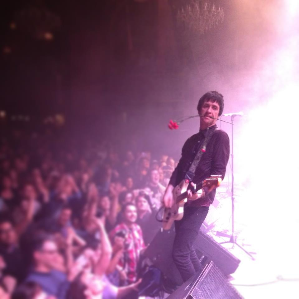 Johnny Marr live 2013