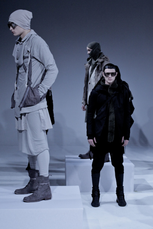 rafcrymons:   Boris Bidjan Saberi A/W12 ph Samuel Willett