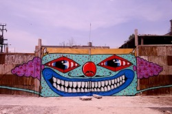 vandalog:  Paul Insect and Sweet Toof in Mexico City. Photo by Paul Insect. More from their trip here.