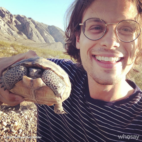 ran into an old friend todayView more Matthew Gray Gubler on WhoSay