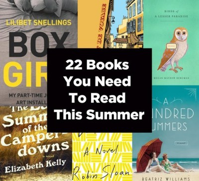 buzzfeed:  buzzfeedbooks:  Because you'll need to find some way to occupy your time on the beach.  Want more? We also have recommendations for queer summer reads!