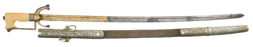 19th century North African nimcha sword.