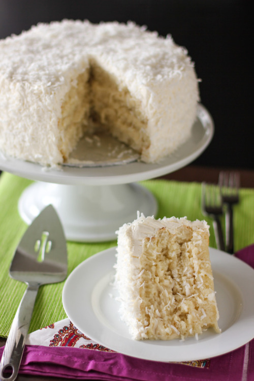 cupcakes-for-breakfast:  The Ultimate Moist, Fluffy, Ridiculous Coconut Cake | Willow Bird Baking