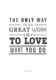 Steve Jobs love what you do | Colorado Springs web design, social media marketing Denver, seo, email newsletters