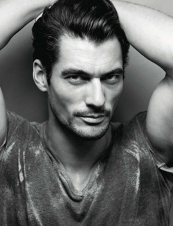 David Gandy for Amica Magazine. May 2013. Photographed by Giovanni Gastel.