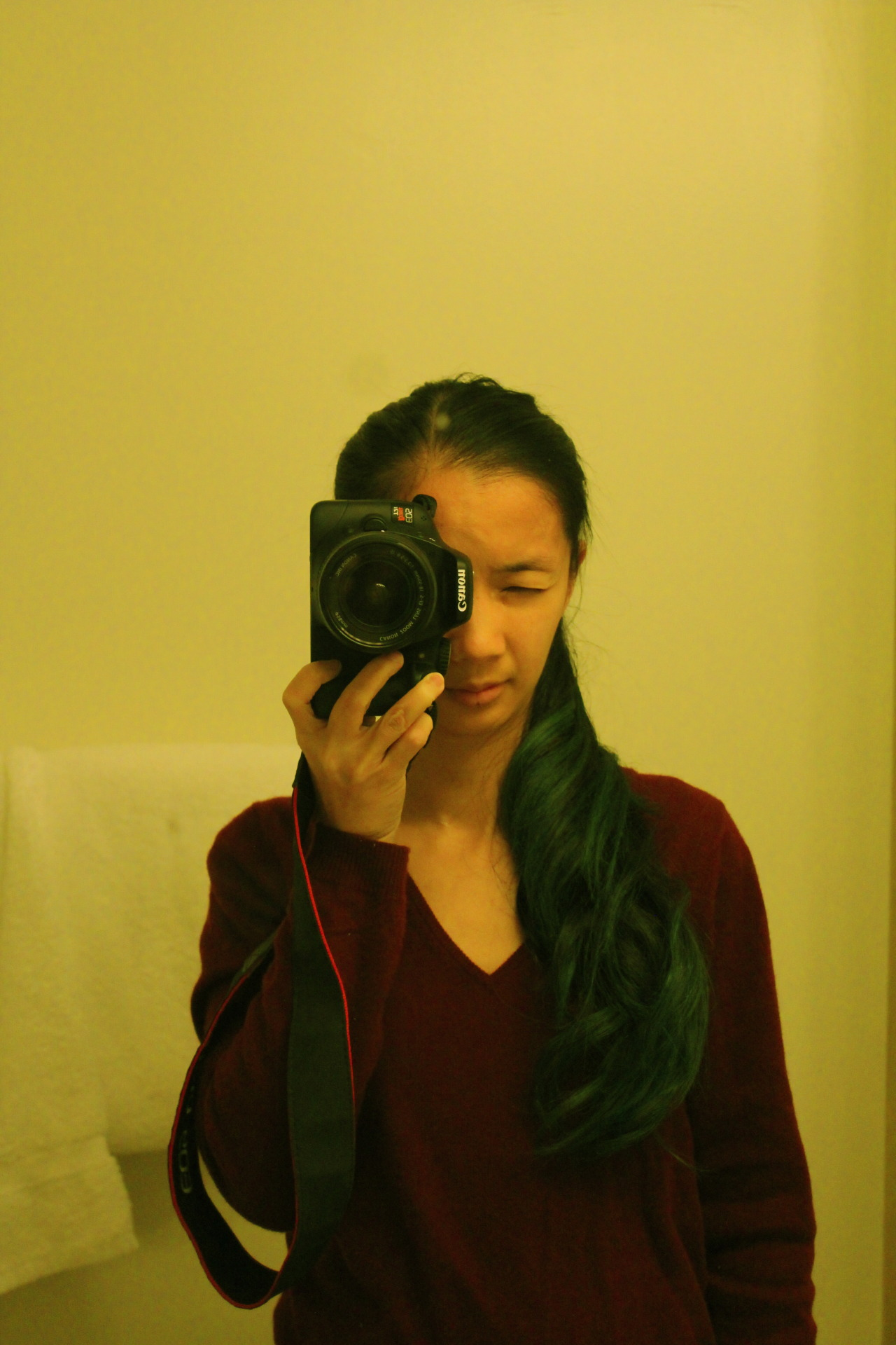 Self-Portrait - Going Green