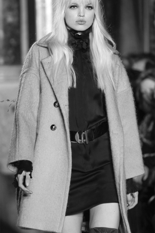 s-w-a-r-o-v-s-k-i:  Daphne Groeneveld at Emilio Pucci Fall - Winter 2013/2014