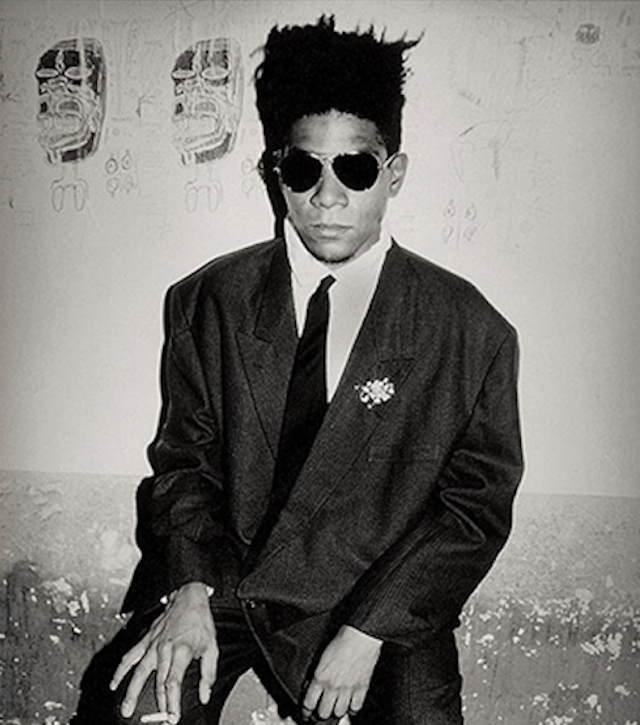 "Celebrating Basquiat ""I start a picture and I finish it. I don't think about art while I work. I try to think about life."" - Jean Michel Basquiat Happy birthday Jean Michel Basquiat! The iconic artist was born on this day in 1960 in Brooklyn, NY.  One of the first African American artists to reach international stature and wealth in the art world, Basquiat had a short but prolific career, rising to fame early for his fusion of multicultural symbols, biting social commentary, distinctive graphic style, and very temperamental personality!"