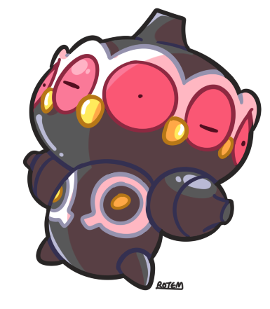 DAY 29: Scariest  Creepiest Poke Claydol~ ( Yeaahhh remember i said i love 90% of them pokes? This guy ain't in the list. WHAT WERE THEY THINKING )