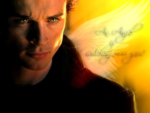 alexakent:  fan art -  the Blur #smallville   awww i remember making it - one of my all time favourite work :-) he is so beautiful in that shot.
