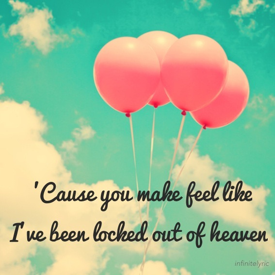 infinitelyric:  Bruno Mars - Locked Out of Heaven