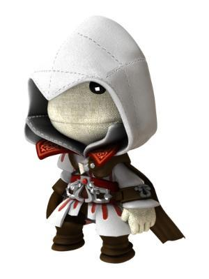 superboynyc:  Sackboy in Ezio Auditore da Firenze Costume from Assassin's Creed II