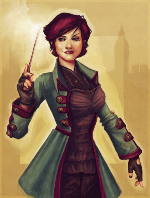 chubbybychoice:  Tonks by *LunaLouise This is how I always pictured Tonks from the books. Did I ever tell y'all that back in high school I seriously considered changing my legal name to Tonks? Because that was a thing.