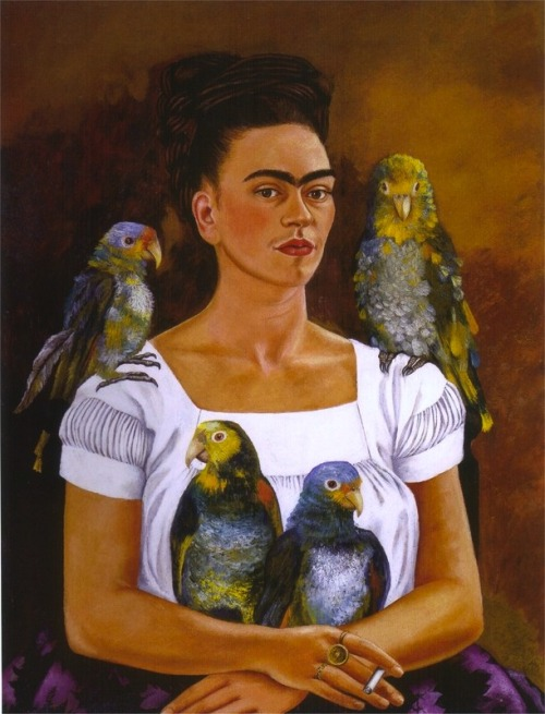 there-was-a-monster-in-my-bed:  Frida Kahlo