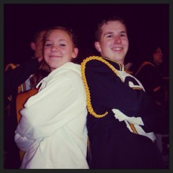 Yeah we was cooooo #missher #highschoolthrowback #bandnerds