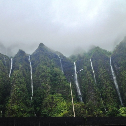 instaloha:  There is no such thing as too many waterfalls