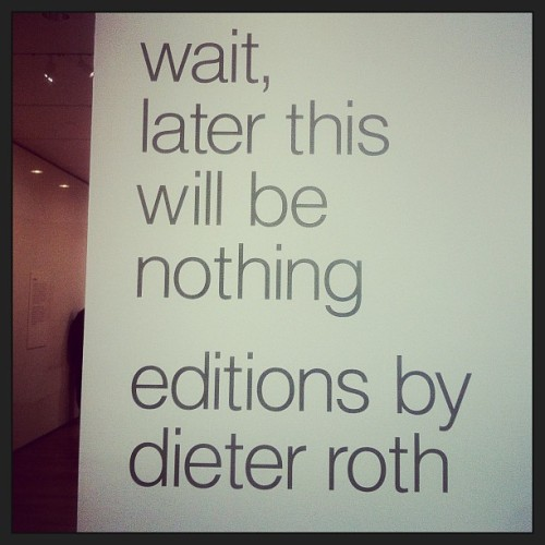 Meanwhile, at the MoMA, the curator naming exhibits continues to kill it.