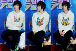 121202 Niel at Dream Team 2 Recordingcr: Niel Plus;via: teentopau