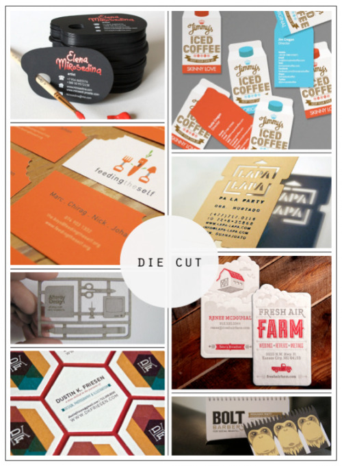 thrutiannaseyes:  Business Cards to DIE for on