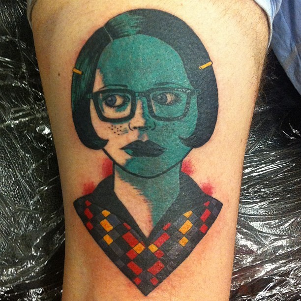 Enid Tattoo.