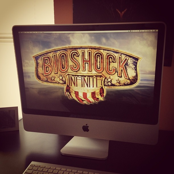FINALLY finished #bioshock Infinite today and am most pleased! Review proper coming soon. #videogames / on Instagram http://bit.ly/12Q6T8J