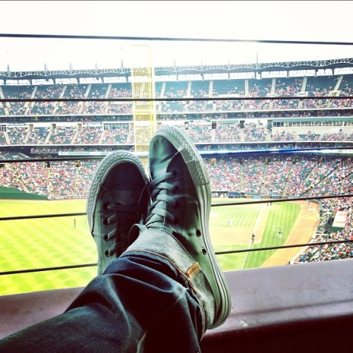 #SuiteLife #WDYWT Converse CT Backzip (at Rangers Ballpark In Arlington)