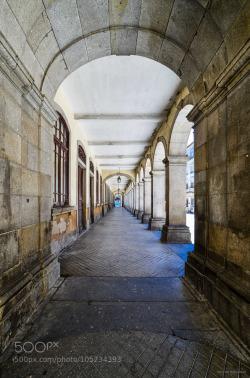 Lisbon arch - MarcHirt - http://ift.tt/1PstKg2