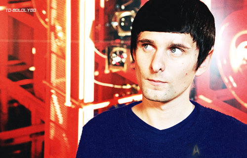 to-boldlygo:  In which I turn Matt Bellamy into a Vulcan