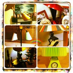 Just for fun… Sum of me fave lamps #gotlamp