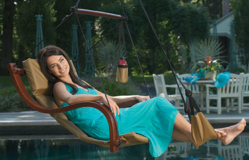 Nami Hanging Lounge Chair from HomeVisions