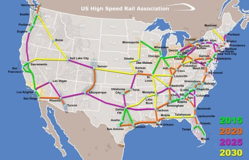 booksarebetterthanboys:  National high speed rail system by 2030?  Let's hope so. (via USHRS)  this would melt my face off with happiness