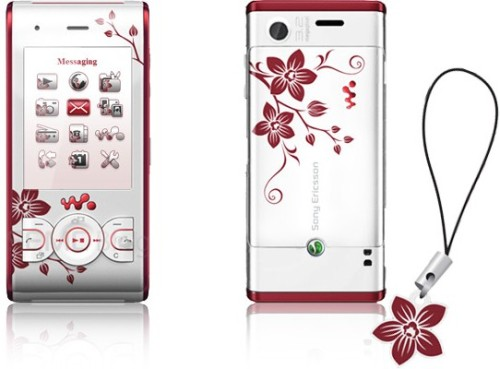 inuccosan:      Sony Ericsson's W595 Cosmopolitan Edition makes poor substitute for actual flora     (via ak47)