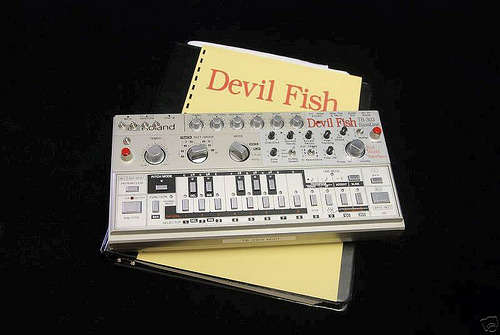 Roland TB-303 Devil Fish (via Matrixsynth)