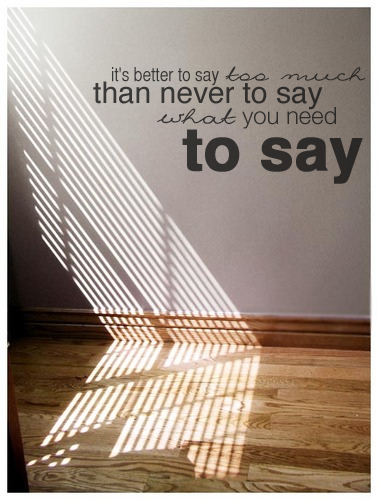 Say - John Mayer(photo via)